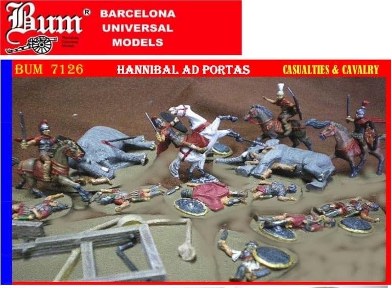 Bum 7126 Hannibal Ad Portas Figures 1 72 Scale