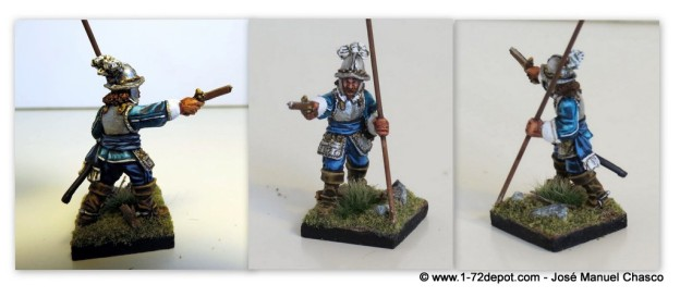 28mm Warlord Games – Hugo Raleigh – King's Guard Ensign