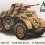 D.O.C Models – 72012 – Autoblinda AB-41 armoured car German version