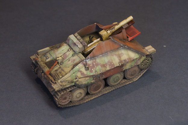Self-propelled 15cm sIG-33/2 auf Jagpanzer 38(t), UM, finished