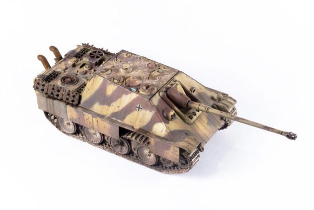 1/72 Trumpeter – 07272 – Jagdpanther, Finished model.
