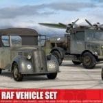 Airfix – A03311 – WWII RAF Vehicle Set