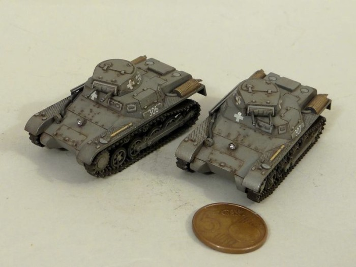 First to Fight – 02 – Pz.Kpfw. IA - Painted by Artur Wałachowski