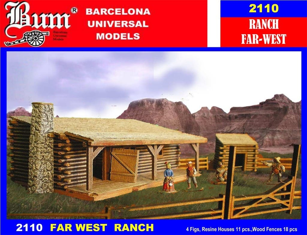 Military Vehicles For Sale >> BUM – 2110 – Far West Ranch – Figures - 1/72 Scale ...