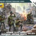 Zvezda – 6180 – German Elite Troops 1941 – 1943