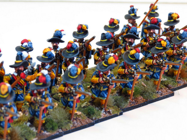 28mm – The Assault Group – Krakow Militia