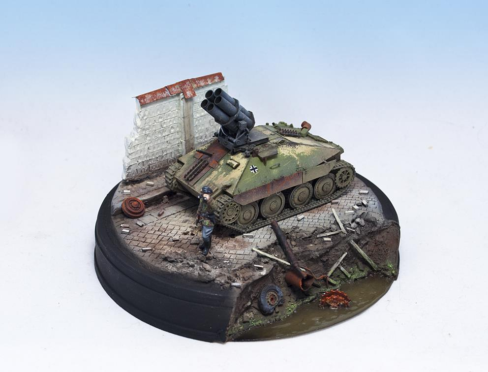 1/72 - UM (352) + S-Model (720005) - (What If) 38(t) PanzerWerfer 21cm