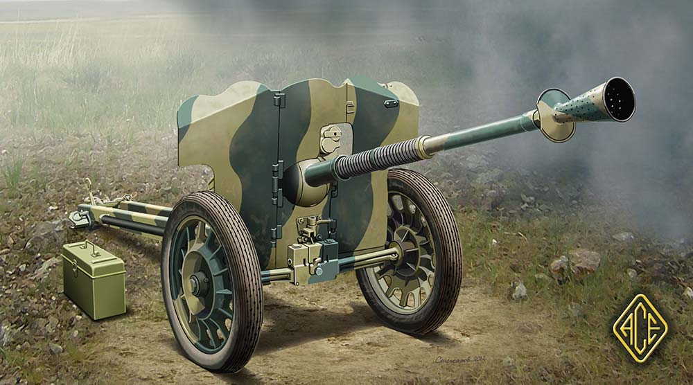 German 50 Mm Anti Tank Gun: French 25mm Anti-tank Gun S.A.L. Mle 1937