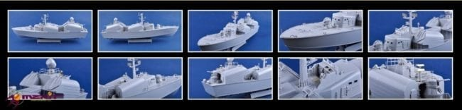 67201 A-Unpainted Model