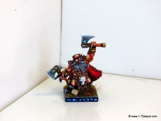 28mm – Mantic Games – Dwarf Berserker Lord