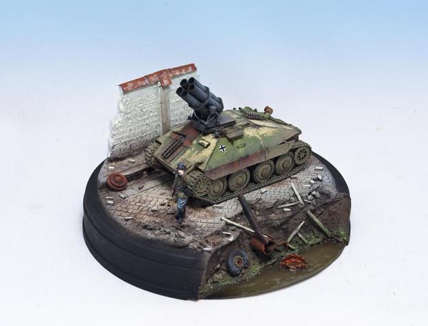 1/72 – UM (352) + S-Model (720005) – (What If) 38(t) PanzerWerfer 21cm