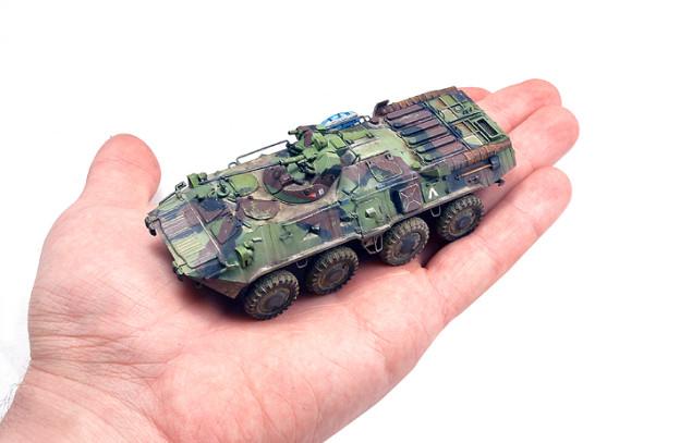 1/72  Trumpeter – 07267 – BTR-80A hungarian KFOR
