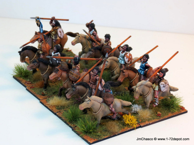 VICTRIX SENT FIRST CLASS 28MM NUMIDIAN CAVALRY ANCIENT