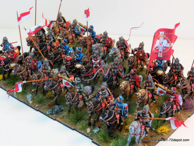 28mm – The Assault Group – Polish Pancerni Cavalry