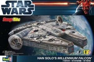 Revell - 85-1854 - Star Wars Han Solo's Millennium Falcon, box x changed.