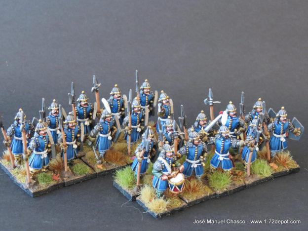 28mm Warlord Games – Wallachian Voynik Infantry.