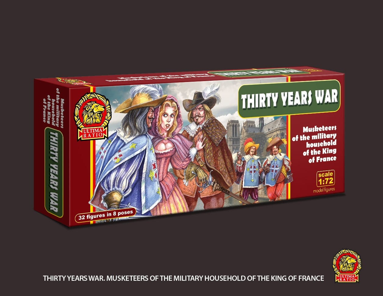 Ultima Ratio Ur011 Thirty Years War Musketeers Of The
