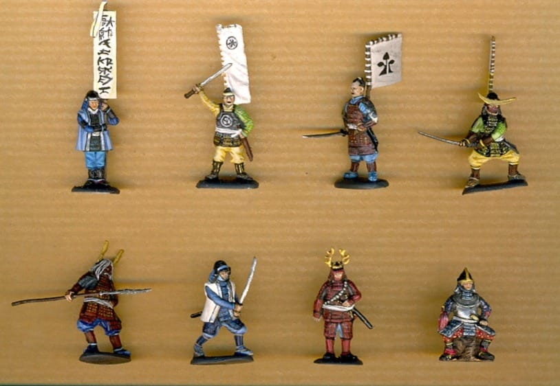 ODEMARS HYTTY YKREOL 1//72 Samurai Warriors RARE SERIE BOX SPRUES ALL POSES