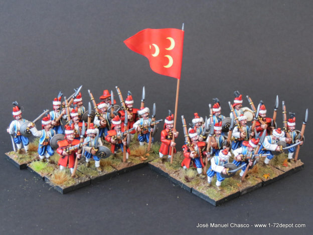 28mm The Assault Group – Ottoman Levent.