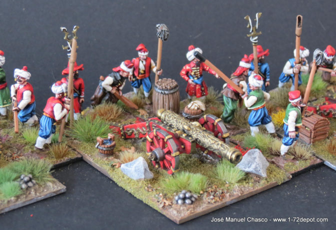 28mm The Assault Group – Ottoman Ordinance Artillery