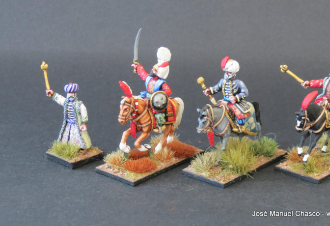 28mm Warlord Games – Suleiman & Mounted Janissary Officers