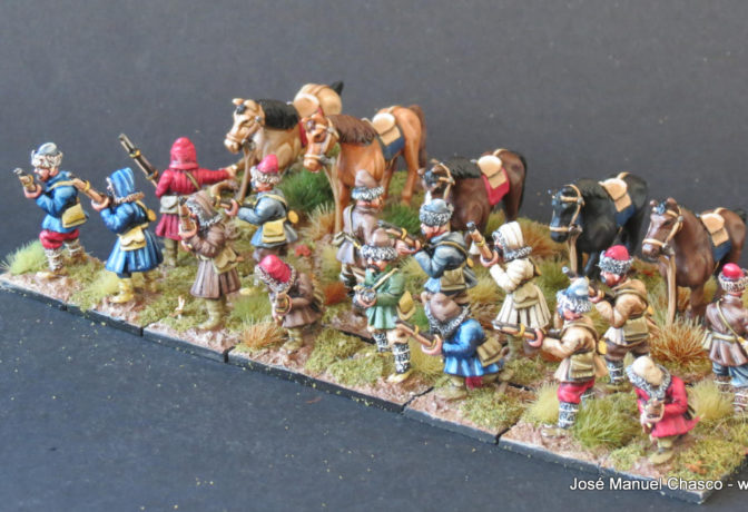 28mm The Assault Group – Dismounted Tatars