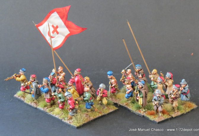 28mm The Assault Group – Cossack on foot