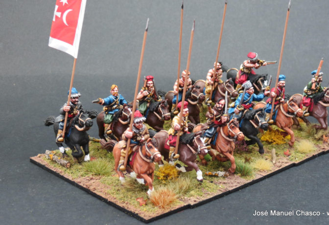28mm – The Assault Group – Mounted Cossacks