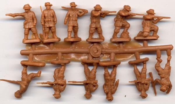 Rebellion 1900 Red Box RB72024-1:72 German East Asia brigade Neu