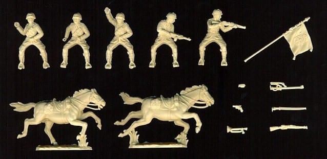 WATERLOO NEU 1:72 FIGUREN AP042 WWI Italian Cavalry