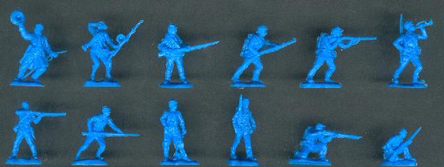 1:72 A Call to Arms #55 US Bürgerkrieg Union Infantry Norden Infanterie Soldaten