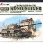 Flyhawk - FH3019 - Pz.Kpfw.VI Ausf.B Königstiger (Conventional Version)