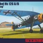 SabreKits (SK) - SBK7010 - Henschel Hs 126 A/B Blitzkrieg